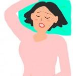 寝汗が大量にできる時の原因と対策法【病気かも?】