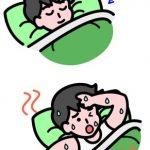 暑くて寝苦しい時の対策法は?【頭を冷やすと効果的!】